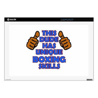 "boxing Designs Skin For 17"" Laptop"