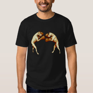 Boxing Dogs Tee Shirt