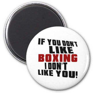 BOXING Don't Like 2 Inch Round Magnet