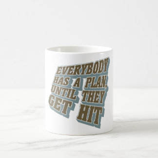 Boxing - Everybody has a plan, until they get hit Classic White Coffee Mug