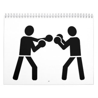 Boxing fighters wall calendars