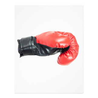 Boxing glove flyer