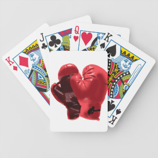 Boxing Gloves Bicycle Playing Cards