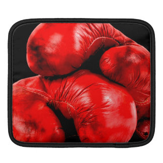 Boxing Gloves Boxer Grunge Style Sleeve For iPads