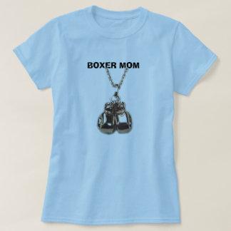 boxing gloves, BOXER MOM T Shirt
