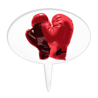 Boxing Gloves Cake Topper