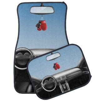 Boxing Gloves Car Dashboard Car Floor Mat
