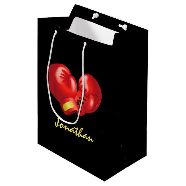 Boxing Gloves Design Gift Bag