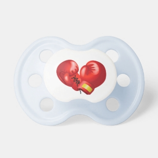 Boxing Gloves Design Pacifier