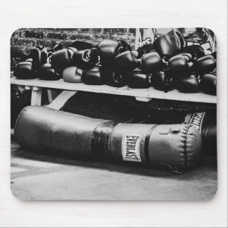 Boxing Gloves Heavy Bag Mouse Pad