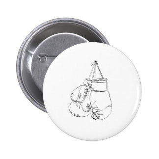 Boxing Gloves II Pinback Button