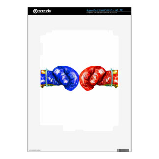 Boxing Gloves iPad 3 Decal