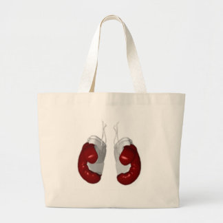 Boxing Gloves Large Tote Bag