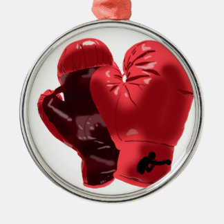 Boxing Gloves Metal Ornament