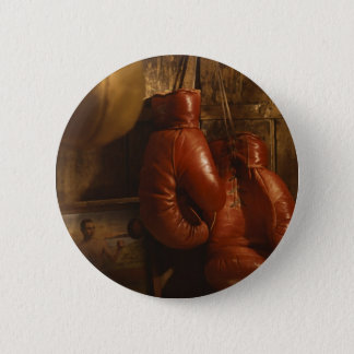 Boxing Gloves Pinback Button