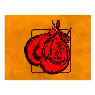 Boxing Gloves Postcard