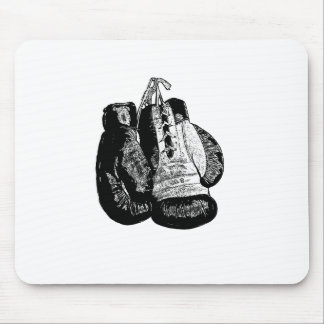 Boxing Gloves Vintage Mouse Pad