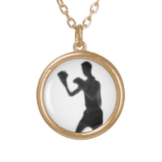 BOXING GOLD PLATED NECKLACE