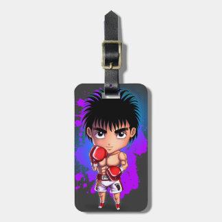 Boxing Guy Bag Tag