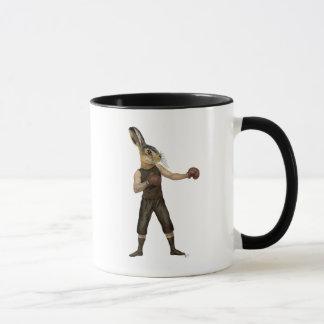 Boxing Hare Mug