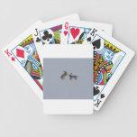 Boxing hares bicycle card decks