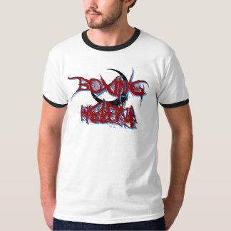 Boxing Helena Penumbra Ringer T-Shirt (Red/Blue)