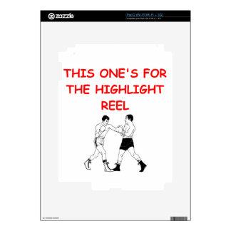 boxing iPad 2 decal