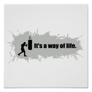 Boxing Is a Way of Life Poster