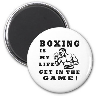 Boxing Is My Life 2 Inch Round Magnet