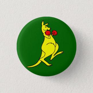 Boxing Kangaroo Button