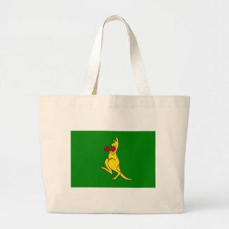 """Boxing kangaroo collector item""""s bag"""