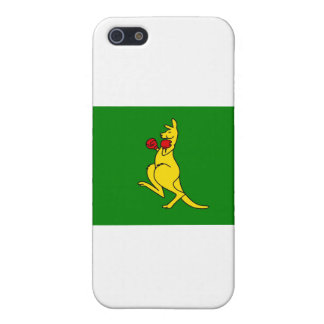 "Boxing kangaroo collector item""s iPhone SE/5/5s case"