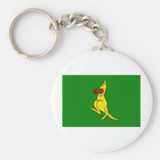 "Boxing kangaroo collector item""s keychain"