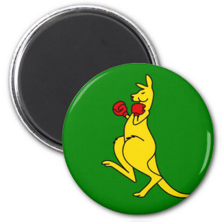 "Boxing kangaroo collector item""s magnet"