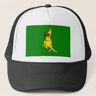 "Boxing kangaroo collector item""s trucker hat"