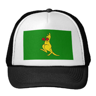 "Boxing kangaroo collector item""s trucker hat"
