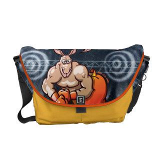Boxing Kangaroo Courier Bag