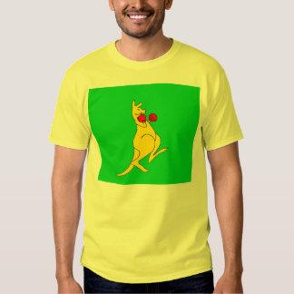 boxing kangaroo t-shirt