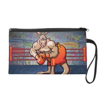 Boxing Kangaroo Wristlet