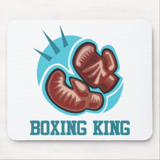 Boxing King Mouse Pad