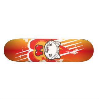 Boxing Kitty Skateboard Deck