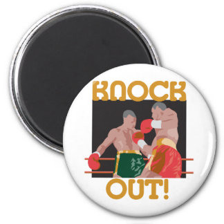 Boxing Knock Out Magnet