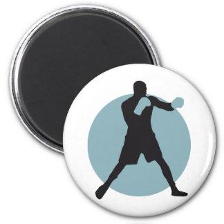 boxing fridge magnet