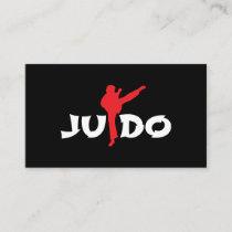 Boxing Man Knee Kick Martial Arts - Gift Idea Business Card