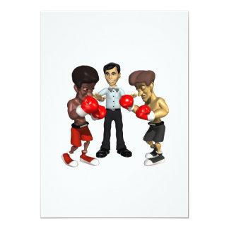 Boxing Match 2 Card