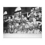 Boxing menor, 1939 impresión de lienzo