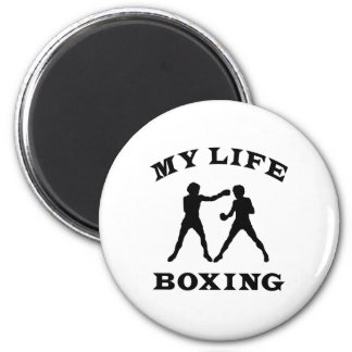 Boxing My Life 2 Inch Round Magnet