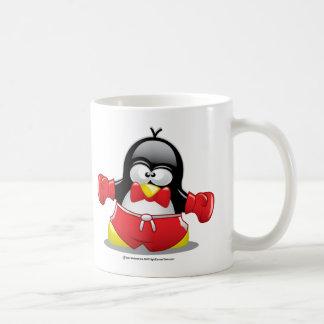 Boxing Penguin Coffee Mug