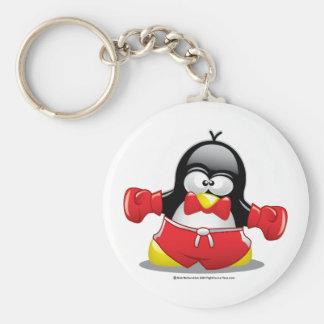 Boxing Penguin Key Chain