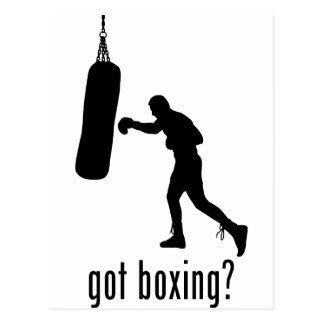 Boxing Postcard